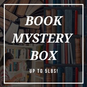 BOOK MYSTERY BOX filled with 5lbs of books